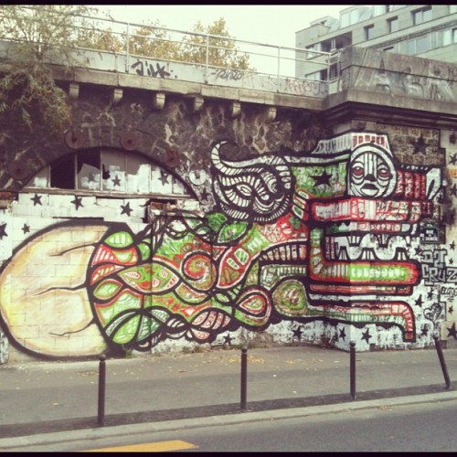 #Paris #streetart (Taken with instagram)
