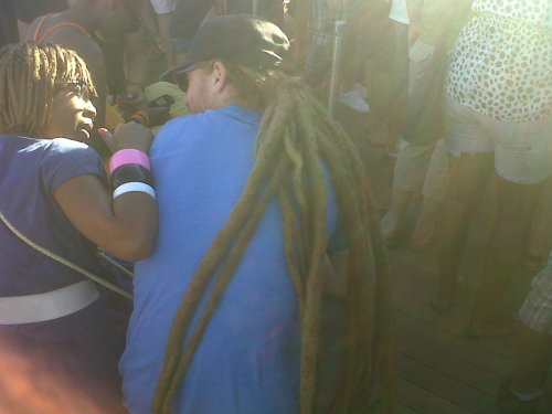 Never seen dreadlocks this thick! @Main St. Life, baby!