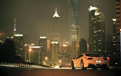 automotivated:  Most Reblogged Of 2011 | November Good Night, Shanghai (by Fxxprotype)