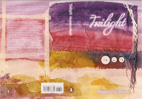 My alternative book cover…Many people roll their eyes at 'Twilight' and put as much passion into hating is as them who love it. Waste of time really unless you're a book critic… But not many people are hating the books, because until the film came out not many had heard of it. I however had, it's a great read, and I love escaping reality for a while. I have no qualms with the original book cover, I just thought I'd try it a different way.