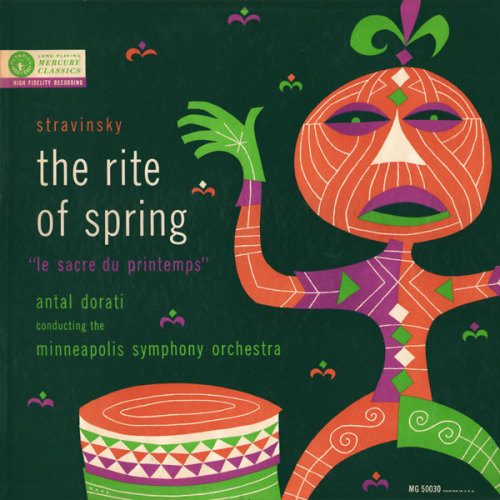 Stravinsky, The Rite of Spring, LP cover Source: Symphonie Fantastique