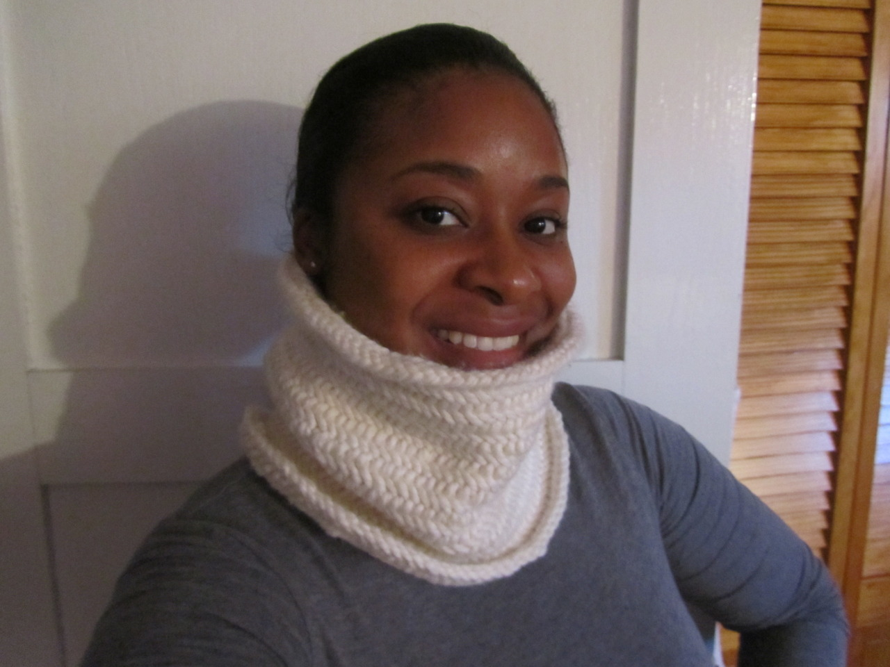 Herringbone Tube Cowl