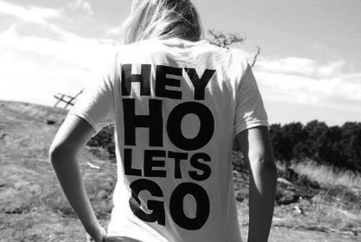"Need this shirt and change ""Ho"" to ""Hoe"". I love calling my friends hoes but,they know I'm kidding.xD So nothing wrong with it…I don't think."