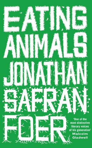 wantnevergoesaway:  educatedeating:  Eating Animals by Jonathan Safran Foer I think everyone should read this book.  It is incredibly well-written and really made me think about why i choose to eat or abstain from eating animals.  I have have consistently been against factory farming but I have wavered back and forth between being vegan, vegetarian, pescatarian, and an ethical omnivore in regards to my eating identity.  Each chapter of this book made me requestion and reidentify with a new eating habit.  It was both confusing and refreshing to be questioning my habits in such a way.  The most impactful chapters for me were the ones written by a vegan animal activist, the omnivore sustainable rancher, and the vegetarian wife of the sustainable rancher.   Everyone who isn't ready to commit to reading the whole book should listen to Jonathan Safran Foer speak for the Commonwealth Club of California. The podcast is available for free on iTunes.  now i have to go check out the podcast. thanks for the tip.  :)