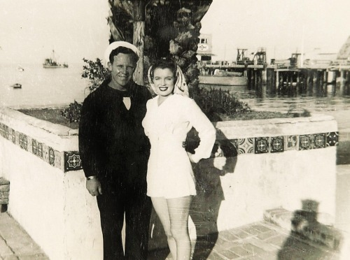 Jim and Norma Jeane Dougherty 1943