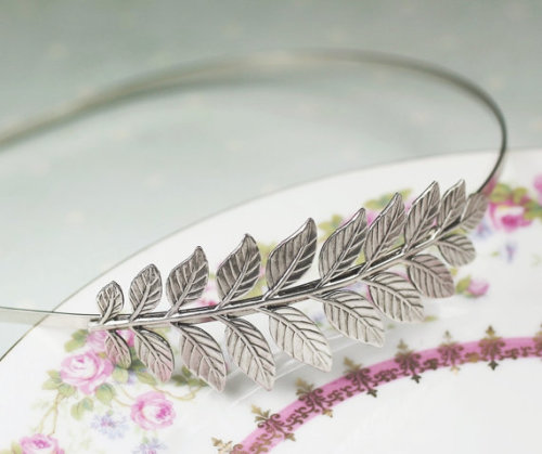 Fern Leaf Headband by mylavaliere. $20.00.