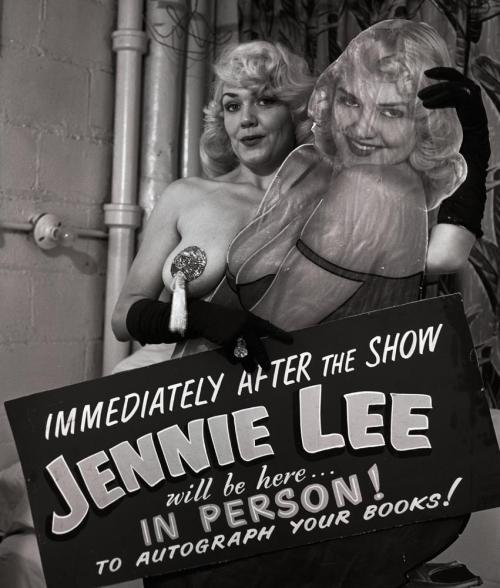 steroge:   Jennie Lee   (aka. Virginia Lee Hicks)