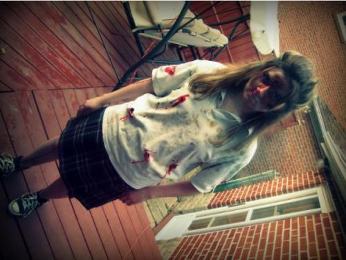 My 2011 Halloween costume. Being a dead school girl was….fun? ;]