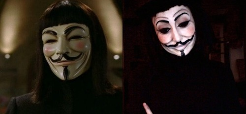 And another!!! Alice Bizarre Vs. Guy Fawkes/ V for Vendetta x
