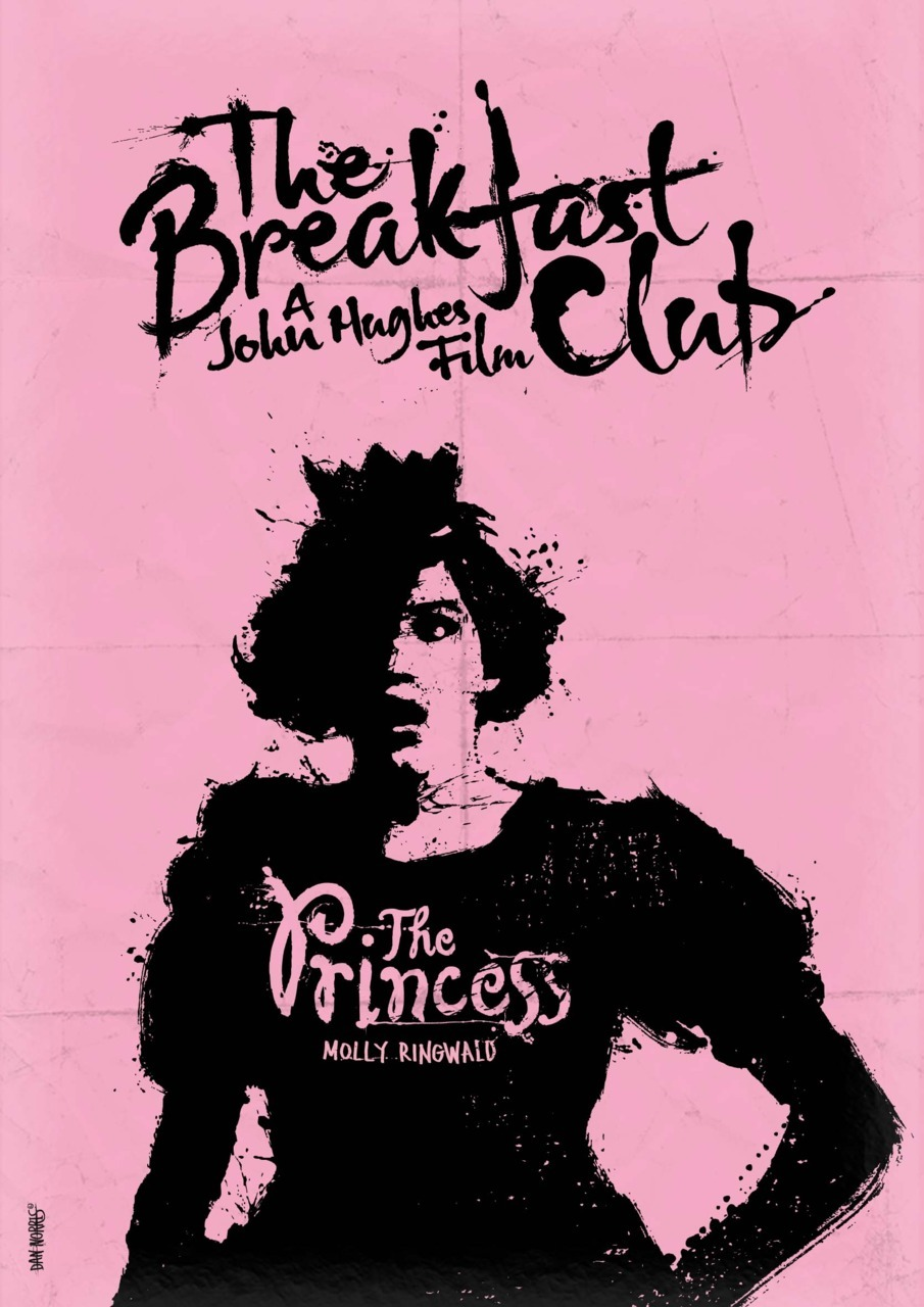 minimalmovieposters:  The Breakfast Club by Daniel Norris See the rest of the series here