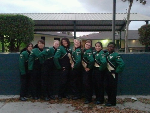 my flute section(: oh how i love being their section leader. (: