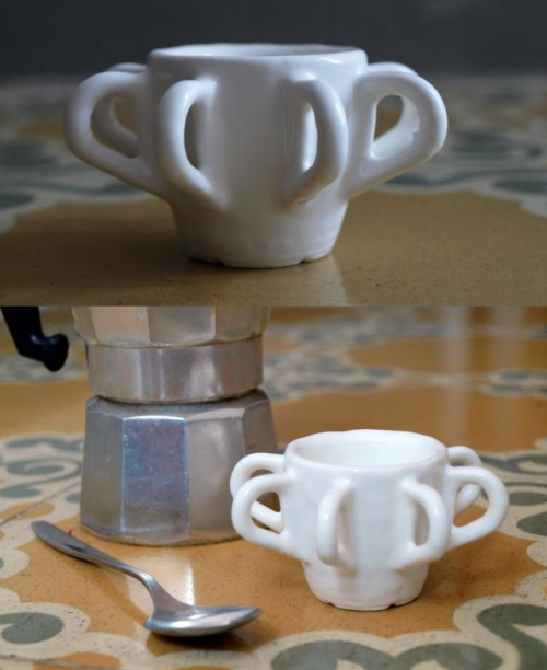 clean! szymon:  OctoCup 3D-printed in ceramics from One Cup a Day project