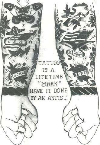 ink-with-honor:  too many people will settle for shit. a good tattoo isnt cheap, and a cheap tattoo isnt good.
