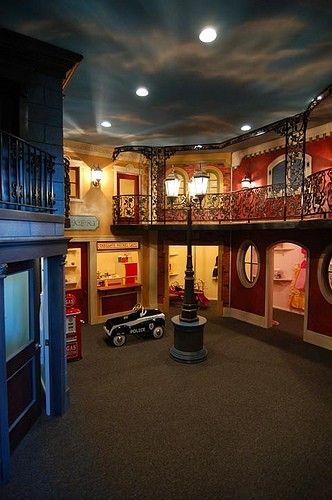 Amazing two story playroom Where was this awesome stuff when I was a kid? (via  modern - kids - new york)