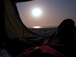 Coast Camping - Tent View by Astro Zhang Yu on Flickr.