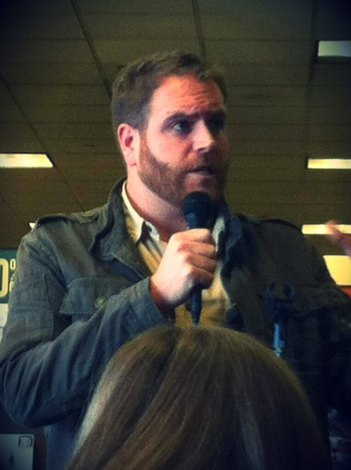 Another one of Josh Gates.