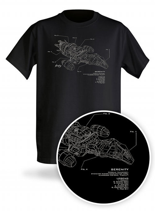 eccentricgeekery:  Serenity Schematics Shirt.     My dad has this shirt :) He is the coolest 72 year old ever!