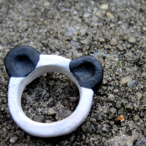 panda ears ring on my etsy :)