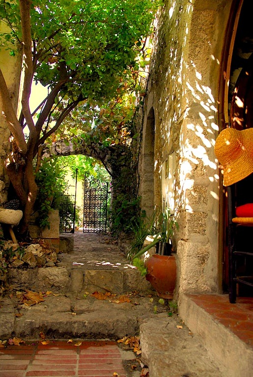 | ♕ |  Cool shades in Eze, Provence  | by © Andre Salvador | via ysvoice