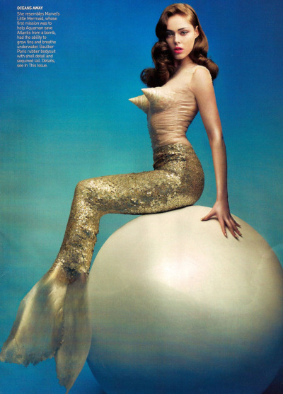"""Daring Do"" Model: Coco Rocha Photographer: Craig McDean Magazine: Vogue US May 2008"