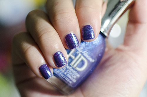 cabrioles:  310 // nails for world of dance - my team's color is purple ;) sally hansen dvd over china glaze grape pop