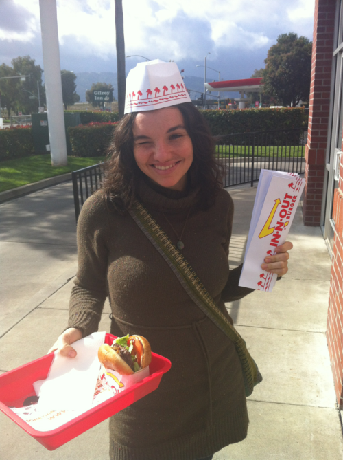 Our diets on this trip have consisted of Burritos and In-N-Out.