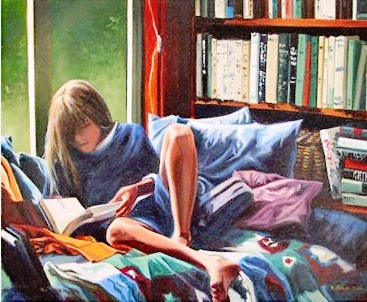 Monica Reading, 2000 by Peregrina Cultural on Flickr.