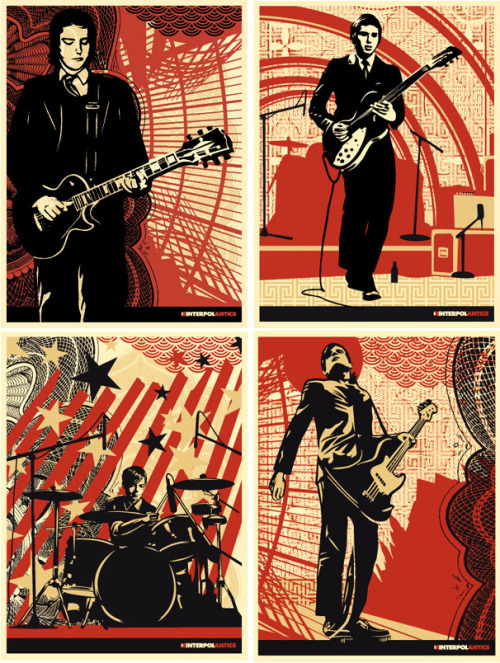 interpolby shepard fairey (aka obey)2005+: his gallery