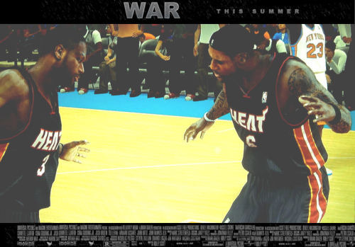 If Wade and LeBron starred in their own movie, would you see it?