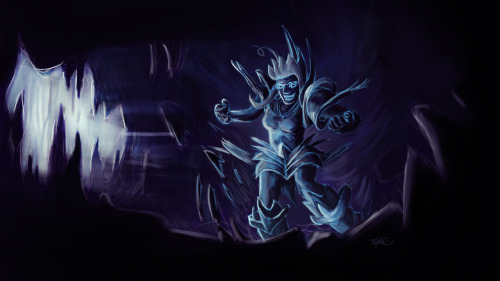 I felt your true chill, f*cking ice queen! 3 hours or so in photoshop