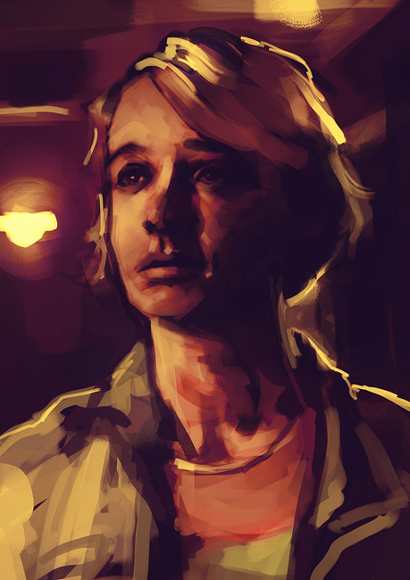 alicexz:  Speedpainting practice. I saw Drive today and had to art it immediately. Really enjoyed the film, absolutely loved Ryan Gosling's character and the soundtrack got me all emotional.