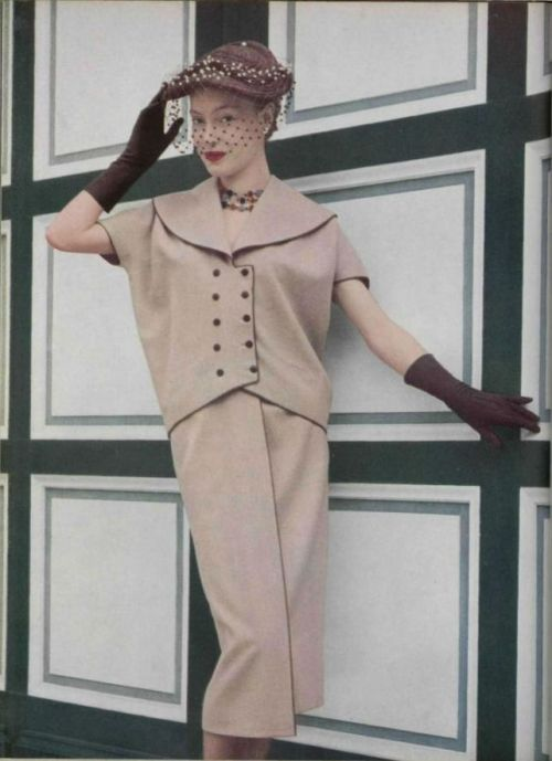 Gres Outfit - 1952 L'Officiel De La Mode - 363-364