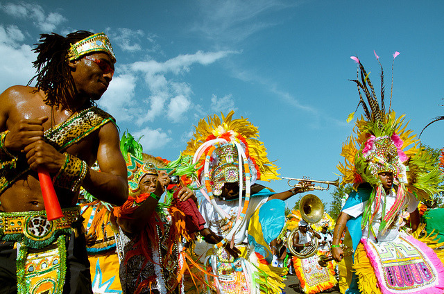 Bahamian Junkanoo Musicians 2 by Asfalto Tango on Flickr.