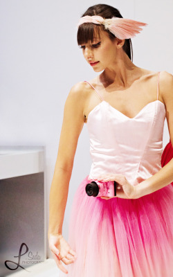 Another photo of the pink ballerina at the Nikon booth from the PDN PhotoPlus Expo. This one is my favorite of all the ones I took of her.