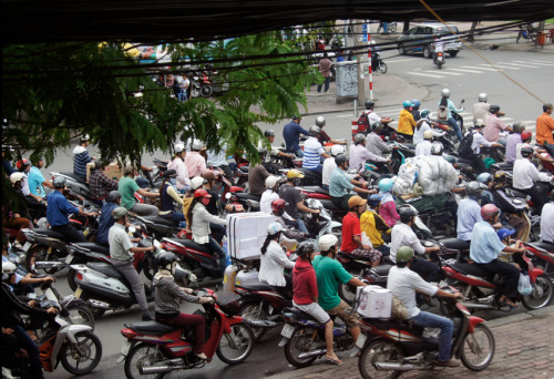 ~ Saigon, Vietnam. Traffic ~