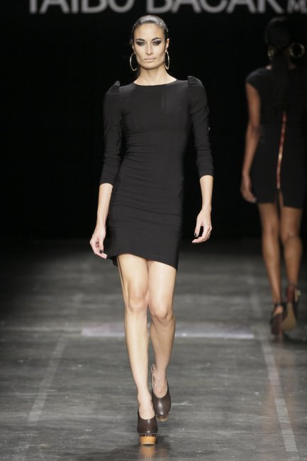 On the catwalk: AFW: The little black dress by Taibo Bacar