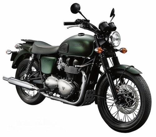 Triumph Steve McQueen Edition I haven't ridden a motorcycle in a while but this one makes me want to feel the cold wind on my face everyday…amazing.