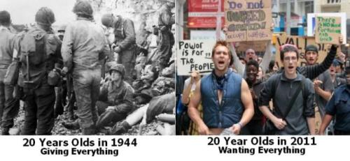 What a difference a generation or two makes.