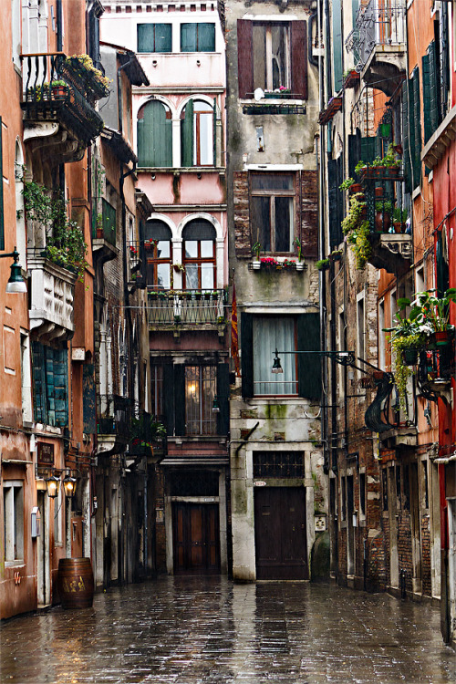 """Calle dei Botteri"" Venice, Italy (via 500px / Photo by Fabrizio Fenoglio)"