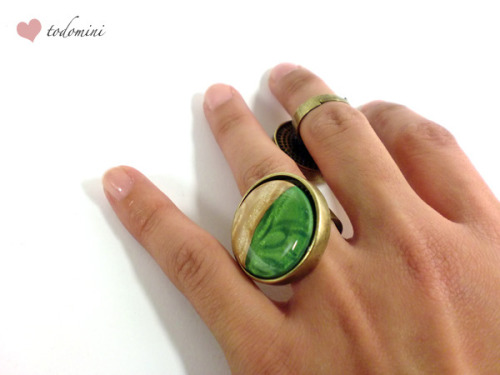 Anillo Vintage y Mica shift by todomini on Flickr.