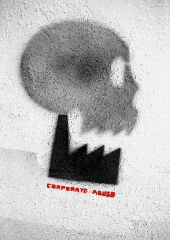 2011 Top 30 Corporate Abuse International corporations are guilty of dehumanisation all over the world.Design by Anita Wasik