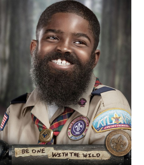 be a man, join boy scouts