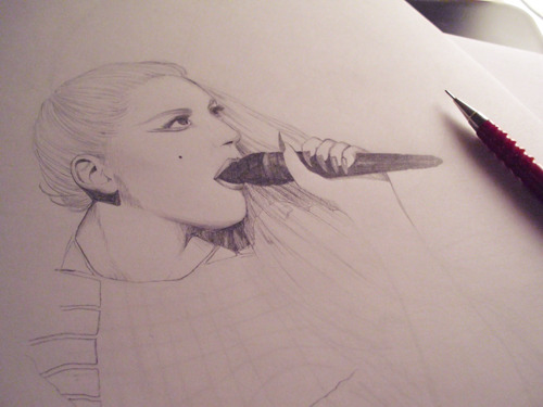"""I'm gonna marry the night"" - work in progress"