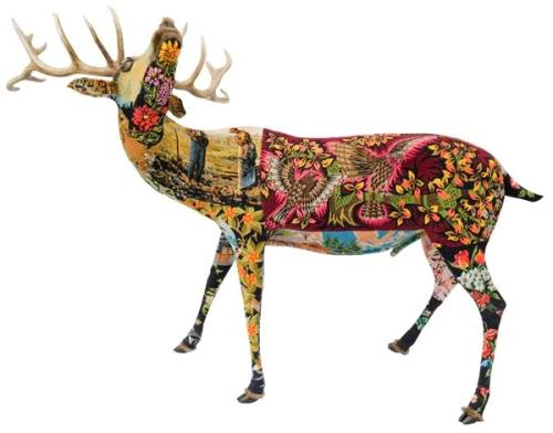 Frédérique Morrel's Tapestry & Needlework Sculptures