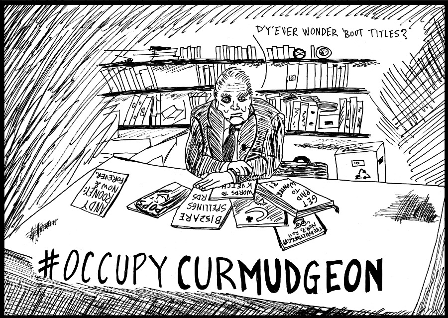 Andy Rooney #OccupyCurmudgeon editorial cartoon by laughzilla for the daily dose