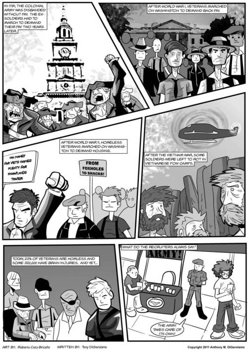 paradiscacorbasi:  The AntiWar Comic: How Many Times?