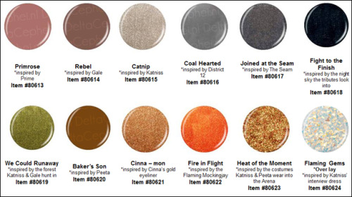 OMG. If China Glaze is creating a Hunger Games collection I might jump ship from OPI.  Sorry.  #MockingJay