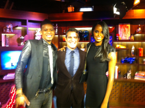 @AyanElmi, @BravoAndy & Me @ #WWHL on @BravoTV.