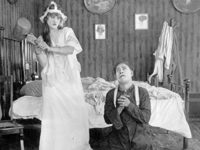 Motion picture scene (1916) by State Library and Archives of Florida on Flickr.