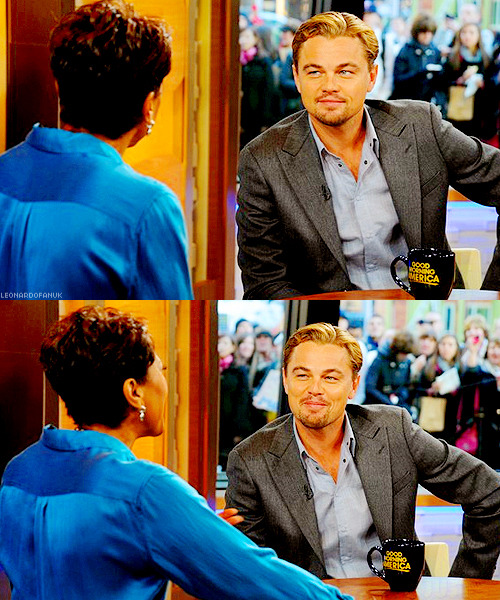 just-look-forward:   On Good Morning America, November 7th  he looks FREAKING AMAZING.